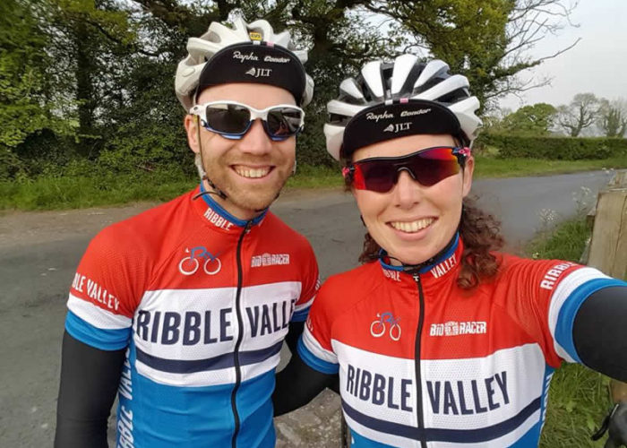 Lee and Charlotte - RVCRC Social Cycling 2017