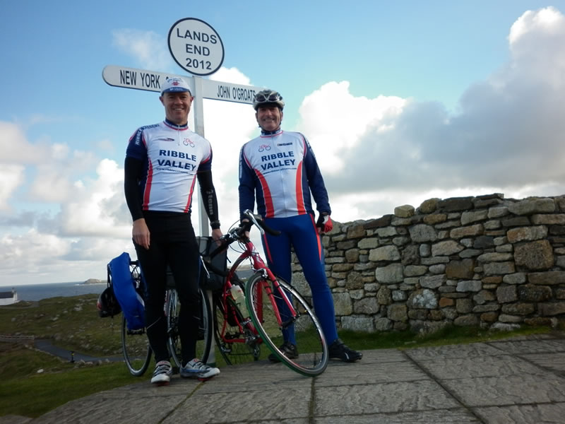 RVCRC LEJOG Challenge - Long Distance Cycling Tourist Ride