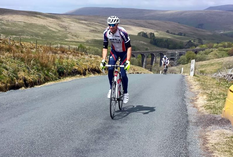 Ribble Valley CRC - Chris - Fleet Moss Audax 2015